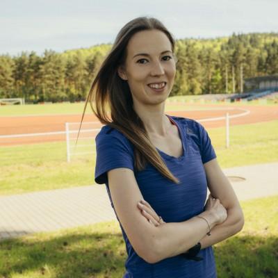 Kamila Pobłocka-Dobrowolska - Trenerka biegania