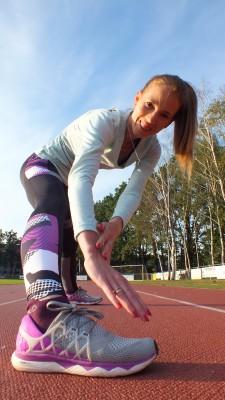trenerka biegania, Kamila Pobłocka-Dobrowolska w butach floatride