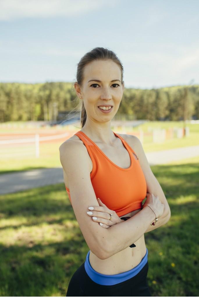 O mnie - Trenerka biegania