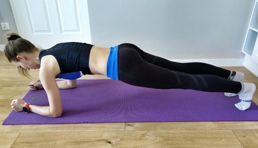 Plank, deska - ważne ćwiczenie każdego biegacza - Trenerka biegania