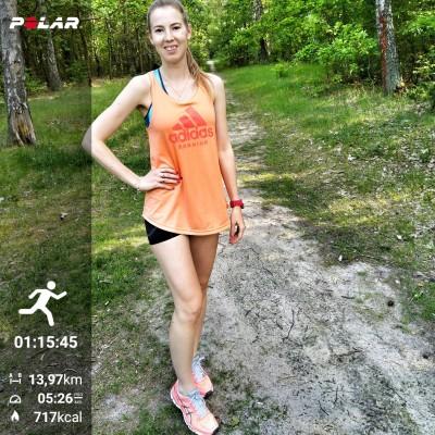 trenerka-biegania, aplikacja Polar Flow