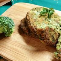 Przepis na kotlety jaglane z brokułem
