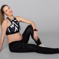 drugi trymestr ciąży, ćwiczenia, trnerka-biegania